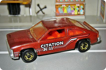 Hot Wheels Chevrolet 1981 Citation X-11