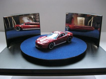 Hot Wheels 2012 Main Street Chevrolet 2011 Corvette Grand Sport