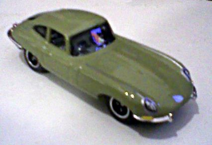Matchbox MBX Metal Jaguar 1961 E-Type Coupé