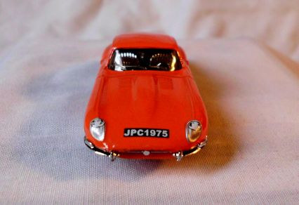 Matchbox Jaguar 1961 E-Type Coupé
