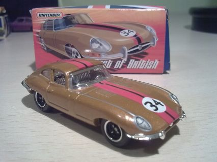 Matchbox Best of British Jaguar E-Type Coupé 3.8 1961