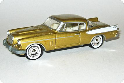 Playing Mantis-Johnny Lightning Hot Rod Magazine R7 Studebaker Golden Hawk