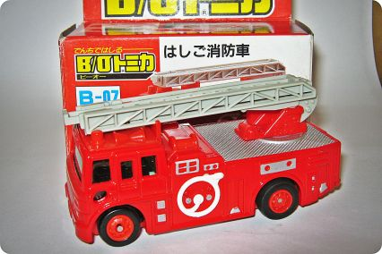 Tomica-Tomy Fire Engine