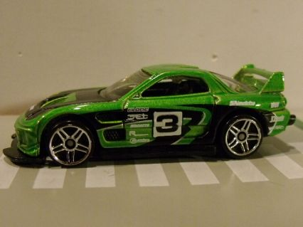 Mazda on Hot Wheels Mazda Rx 7  24 Seven  Zsolt T3 S Collection   Diecastlovers