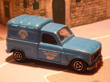 Brookfield Plymouth Neon Collector Die Castml #0: Majorette Renault 4L Eni5