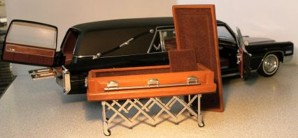 Precision Acura on Precision Miniatures Cadillac 1966 Hearse Landau Max1 18 S Collection
